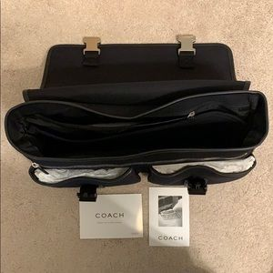 Coach Bags - NEW Coach Deluxe Messenger Bag, Black